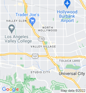 Valley Village CA Map