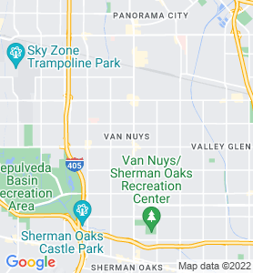 Van Nuys CA Map