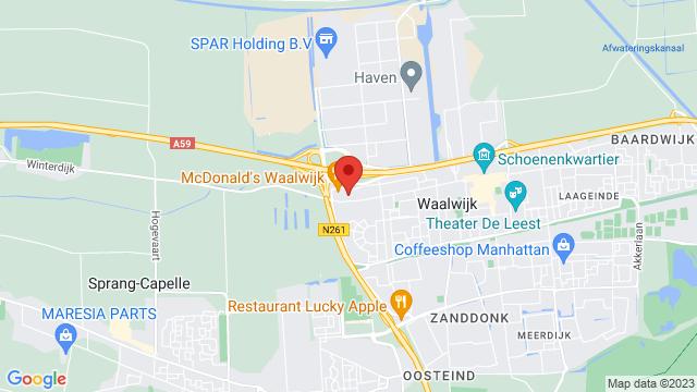 Van+Mossel+Ford+Waalwijk op Google Maps
