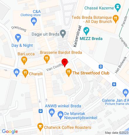 Google Map of Van Coothplein 13 4811 NC Breda