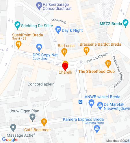 Google Map of Van Coothplein 35 4811 NC Breda