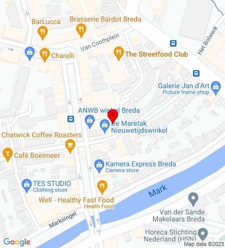 Google Map of Van Goorstraat 5 4811 HH Breda