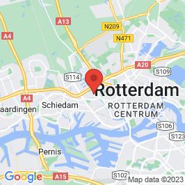 Google map of Van Nellefabriek, Rotterdam