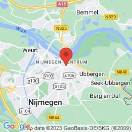 Google map of Oude postkantoor, Nijmegen