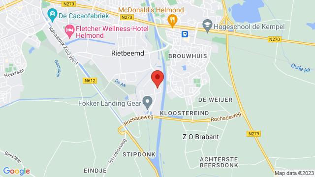 Van+Mossel+Ford+Helmond op Google Maps