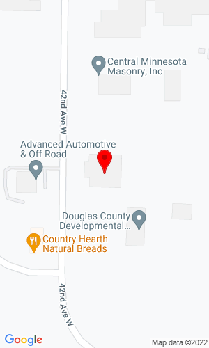 Google Map of Varitech Industries,  Inc. 4115 Minnesota Street, Alexandria, MN, 56308,