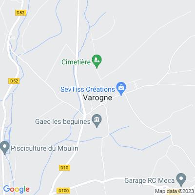 bed and breakfast Varogne