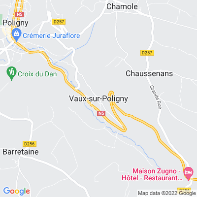 bed and breakfast Vaux-sur-Poligny