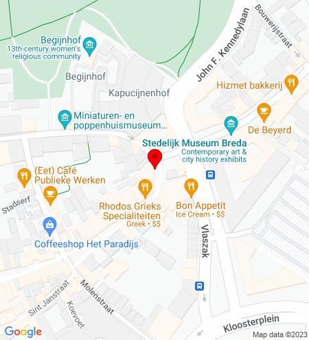 Google Map of Veemarktstraat 69 4811 ZD Breda