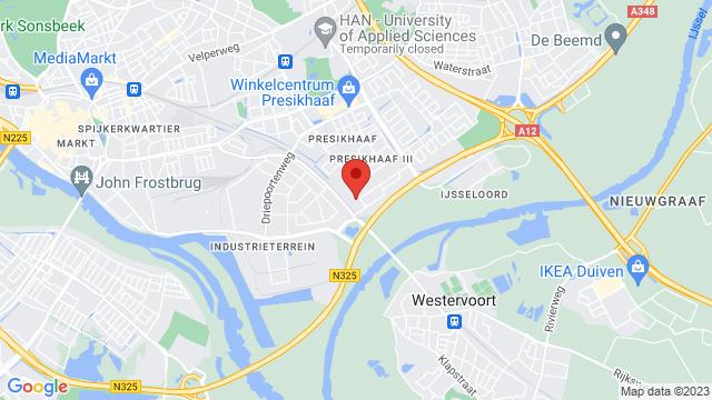 Renault+Bochane+Arnhem op Google Maps