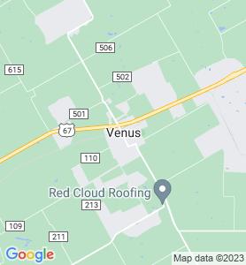 Venus TX Map