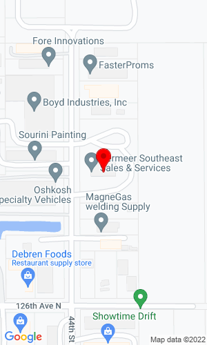 Google Map of Vermeer Southeast Sales & Service, Inc. 1060 West Industrial Avenue, Boynton Beach, FL, 33462,