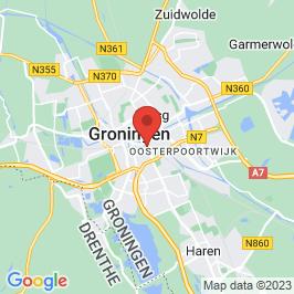 Google map of Puddingfabriek, Groningen