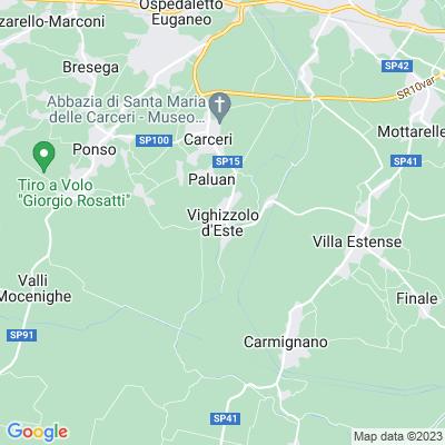 cartina Vighizzolo D\'este