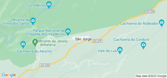 Vila de São Jorge, Goiás.