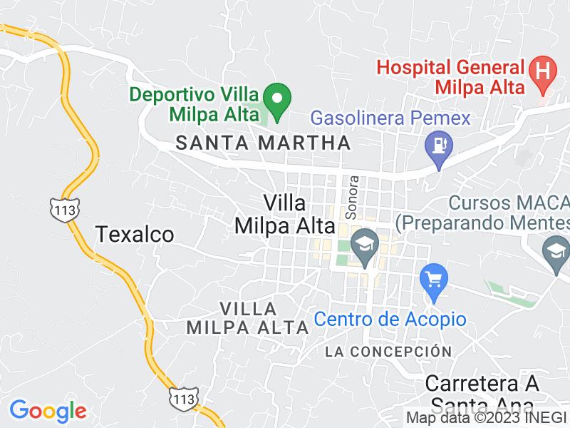 Villa Milpa Alta, Ciudad de México