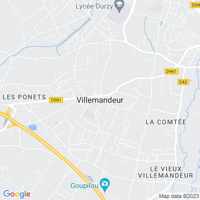 bed and breakfast Villemandeur