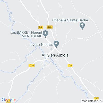 bed and breakfast Villy-en-Auxois