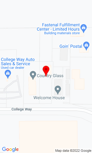 Google Map of Vision Concepts 1888 College Way, Fergus Falls, MN, 56537