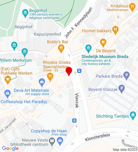 Google Map of Vlaszak 2A3 4811 GR Breda