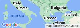 Vlorë map