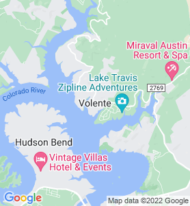 Volente TX Map