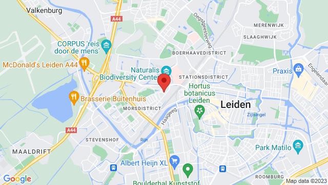 Motorhuis+Leiden op Google Maps