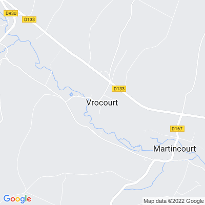 bed and breakfast Vrocourt