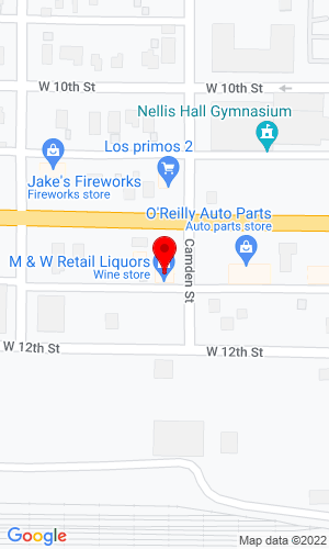 Google Map of W & W Equipment, Inc. 2740 Blinker Parkway, DuBois, PA, 15801