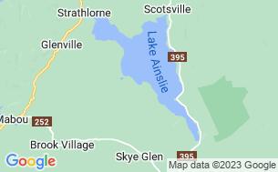 Map of Ainslie Village Campground