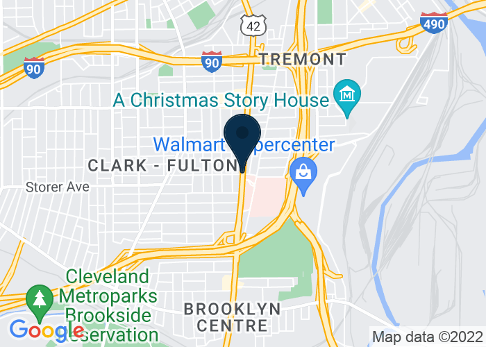 Map of W. 25th Street, Cleveland, OH, United States