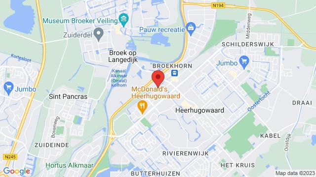 Heerhugowaard op Google Maps