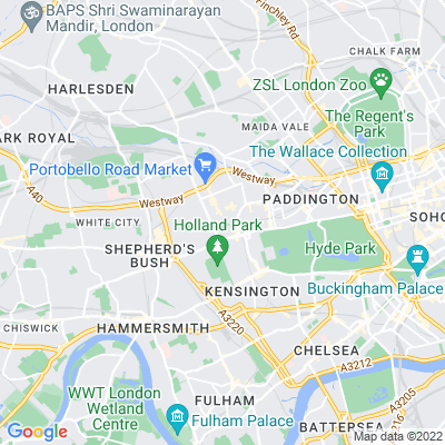 Ladbroke Estate Location