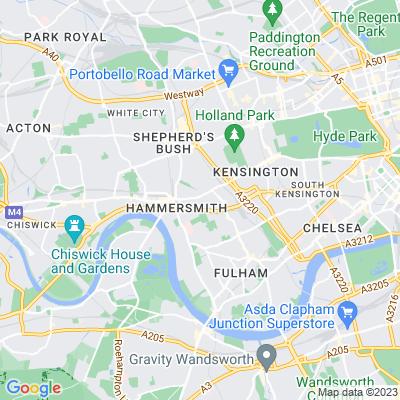 St Paul's Gardens, Hammersmith Location