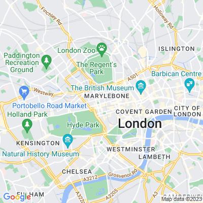 Manchester Square, Marylebone Location