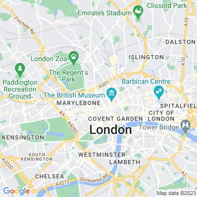 Whitfield Gardens Location