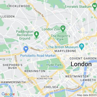 Paddington Green Location
