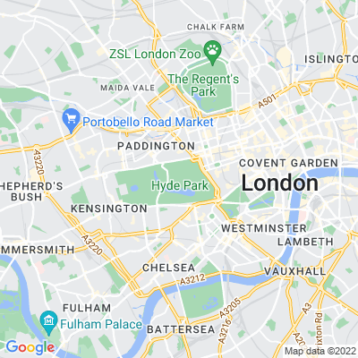 Kensington Gardens Location