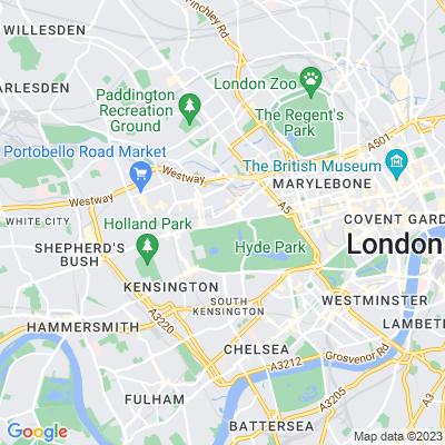 Lancaster Gate Location