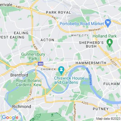 Chiswick Back Common Location
