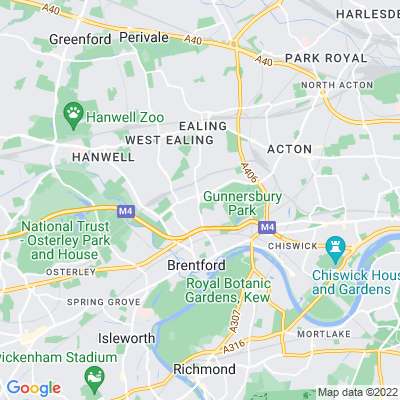 South Ealing Cemetery Location