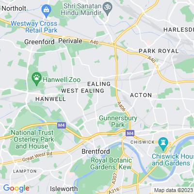 Ealing Green Location