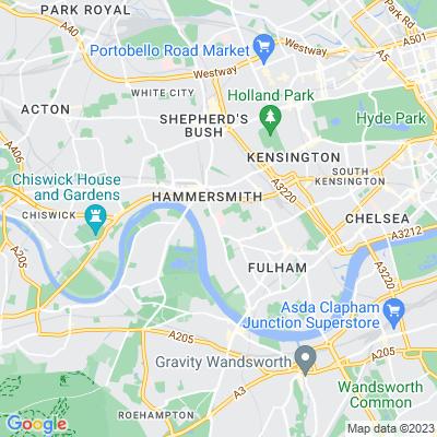 Charing Cross Hospital Location