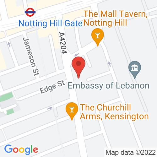Google Map of Patrick Sandberg Antiques