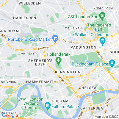 Campden Hill Square Location