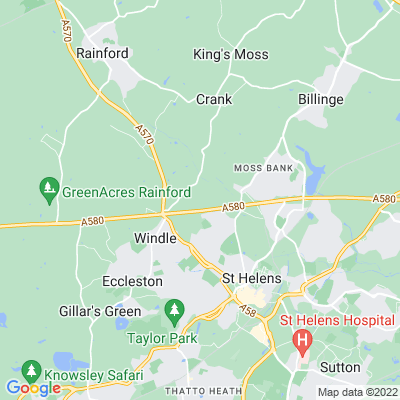 Windle Hall Location