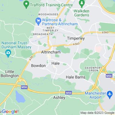 Stamford Park, Altrincham Location