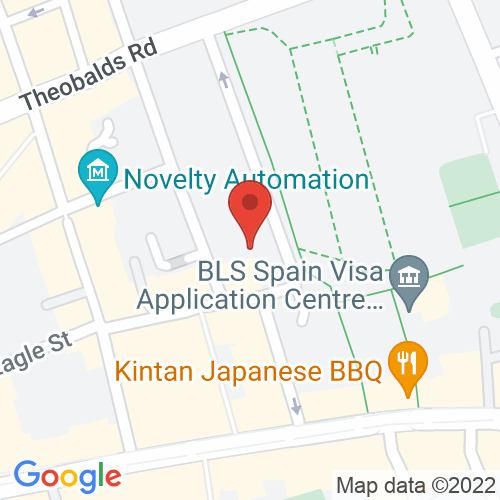 Google Map of Collyer Bristow LLP