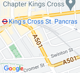Google Map of WC1X 8BP