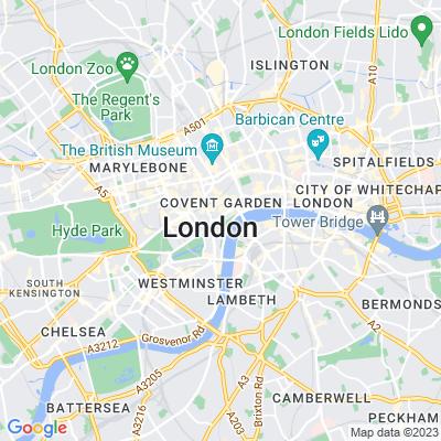 Victoria Embankment Gardens, Westminster Location